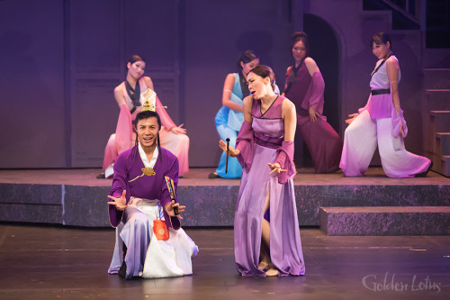 Ronan Pak Kin Yan as Xi Men & Samantha Yeung as Madam Wang & Ensemble, Hong Kong