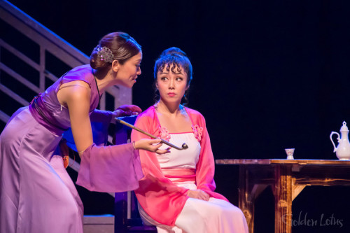 Samantha Yeung as Madam Wang & Harriet Chung as Golden Lotus, Hong Kong