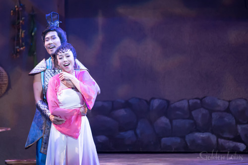 Boon Ho Sung as Wu Sung & Harriet Chung as Golden Lotus, Hong Kong